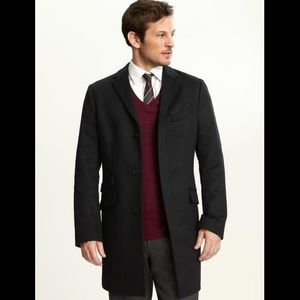 Banana Republic Men's Wool Overcoat